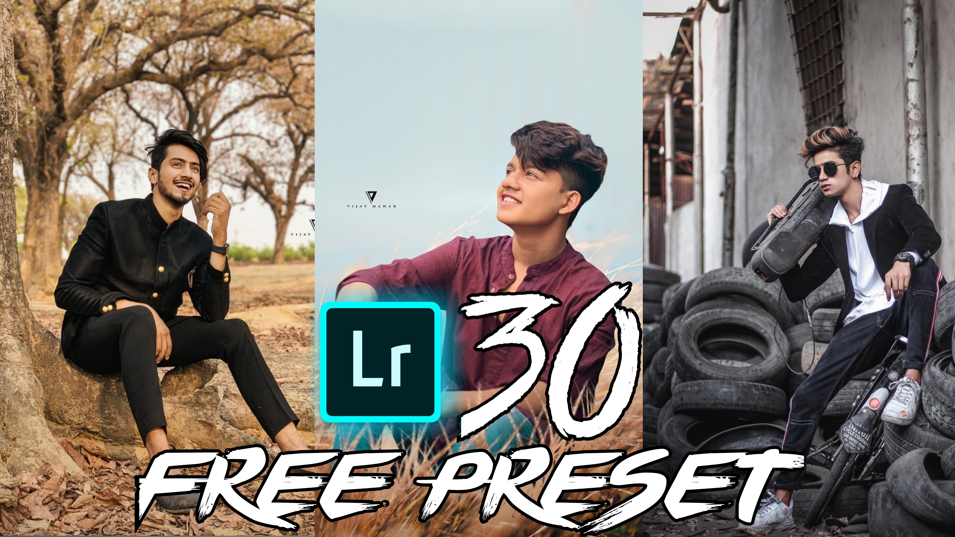 Download Top 30 free mobile lightroom presets - Badshah Editing Zone